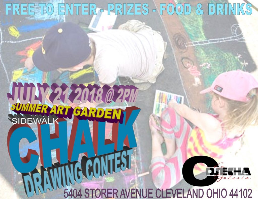 Sidewalk Chalk Drawing Contest