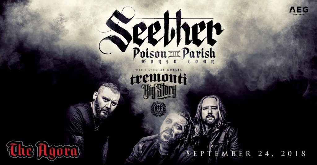 Seether with Tremonti