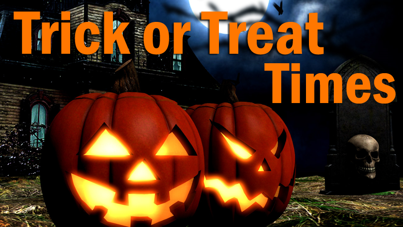Trick Or Treat Times In Northeast Ohio On Cleveland