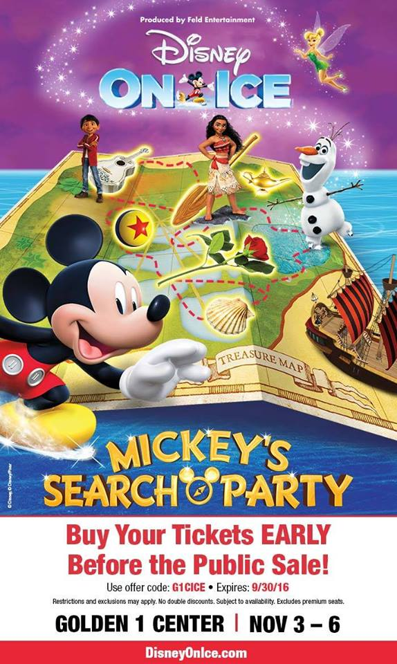 Disney on Ice Mickeys Search Party