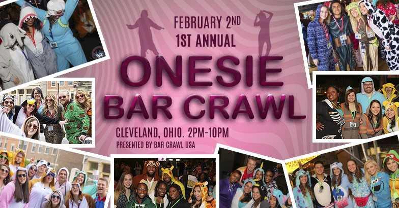 The Onesie Bar Crawl